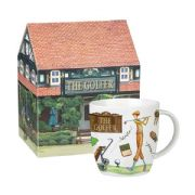 Churchill At Your Leisure Fisherman Mug in Hatbox